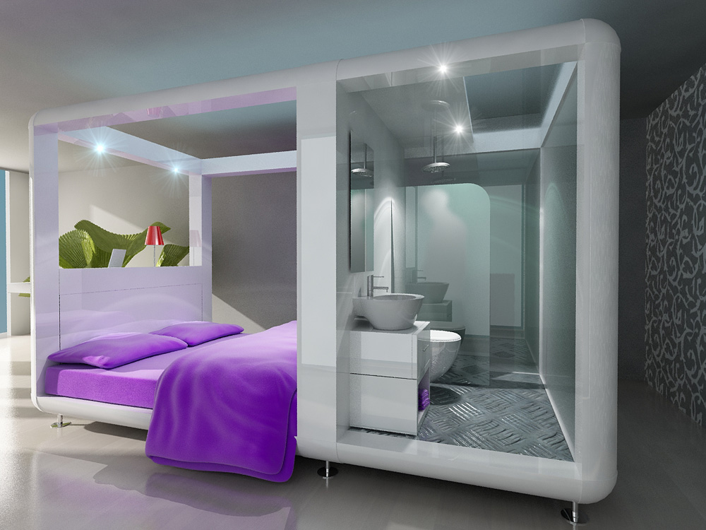 New Qbic hotel concept... Sustainable Interior Design