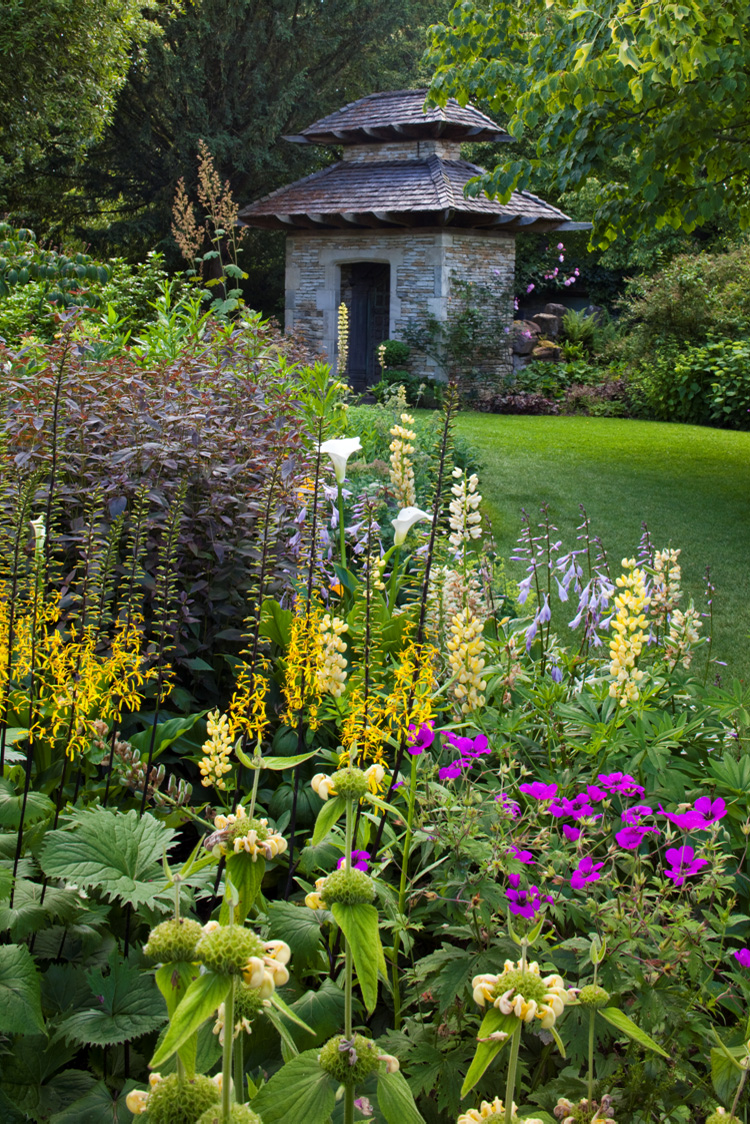 Hospitality action s tour of highgrove back by popular for Garden design gloucestershire