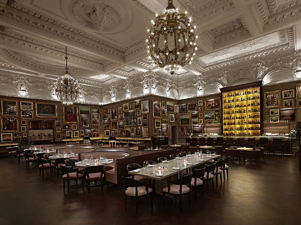 The european hotel design awards announces its 2014 for Restaurant design london
