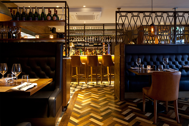 Designlsm designs elegant new steak and grill restaurant