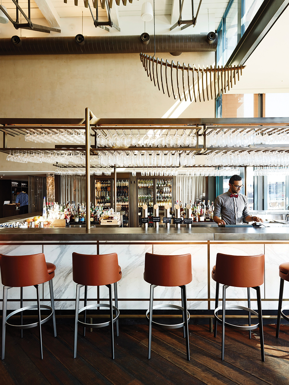 Pier one hotel sydney hospitality interiors magazine for Industrial hotel design