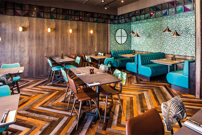 Design command brings expertise to restaurant