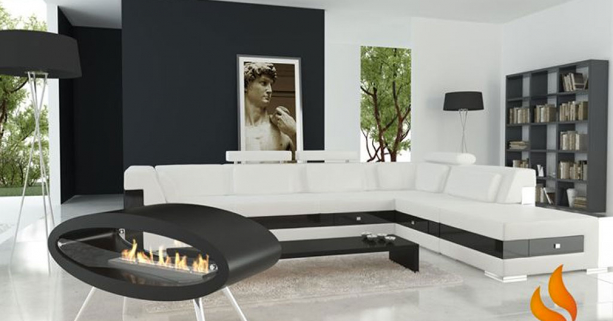 Decoflame Ellipse Flueless Fire: Hospitality Interiors Magazine