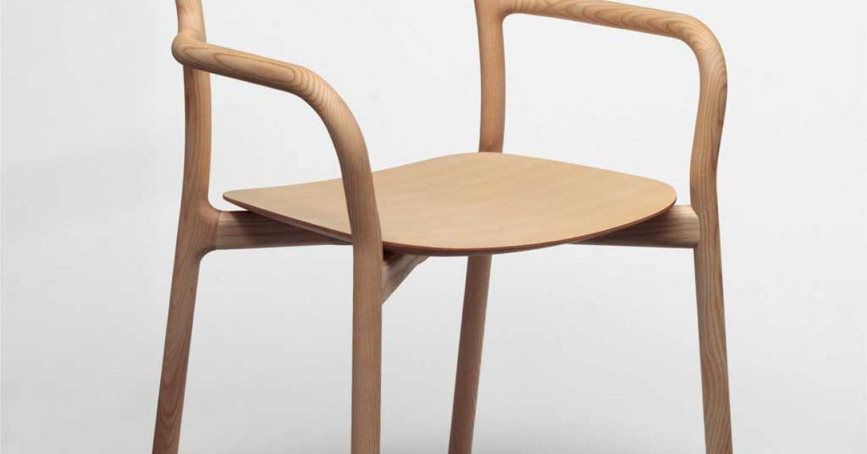 Branca Chair, designed by Industrial Facility and manufactured by Mattiazzi. Image © V&A images