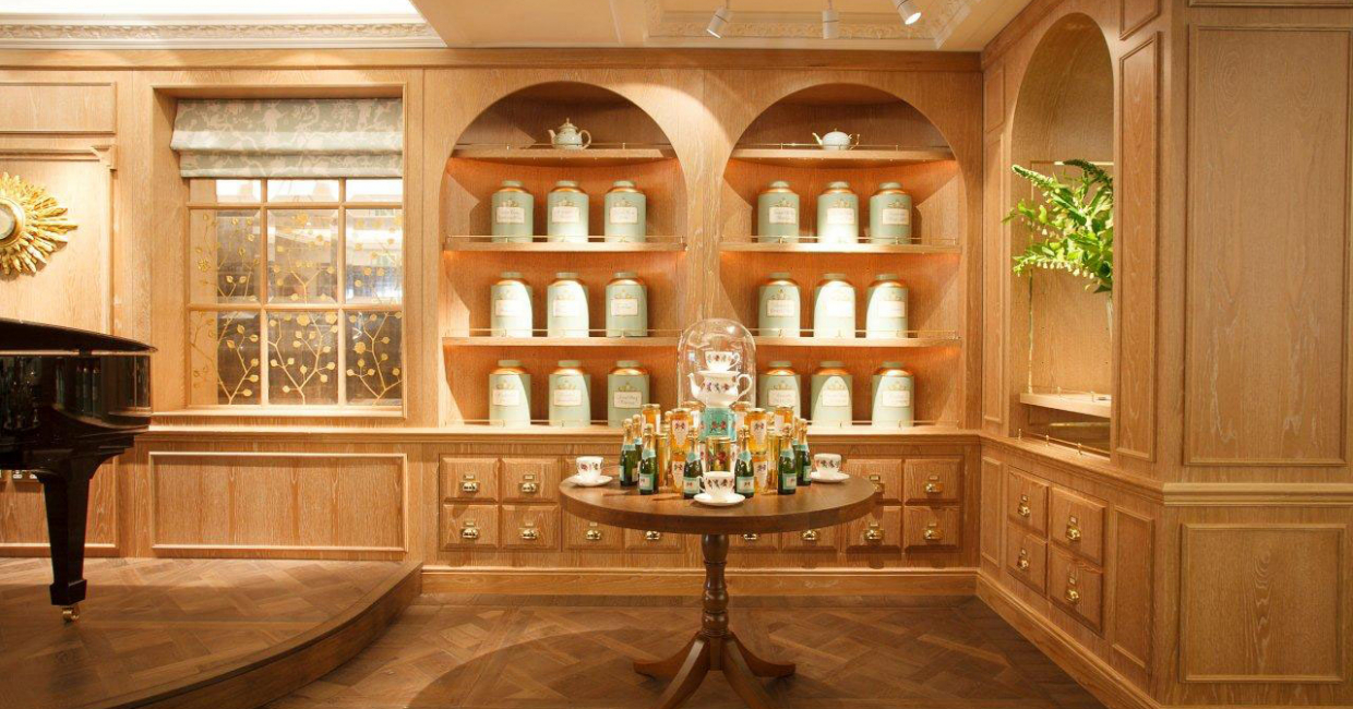 Fortnum & Mason has been sourcing and selling high quality tea for over 300 years