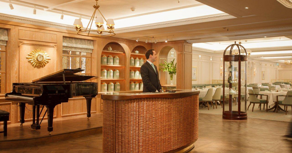 Refined elegance for an iconic tea room