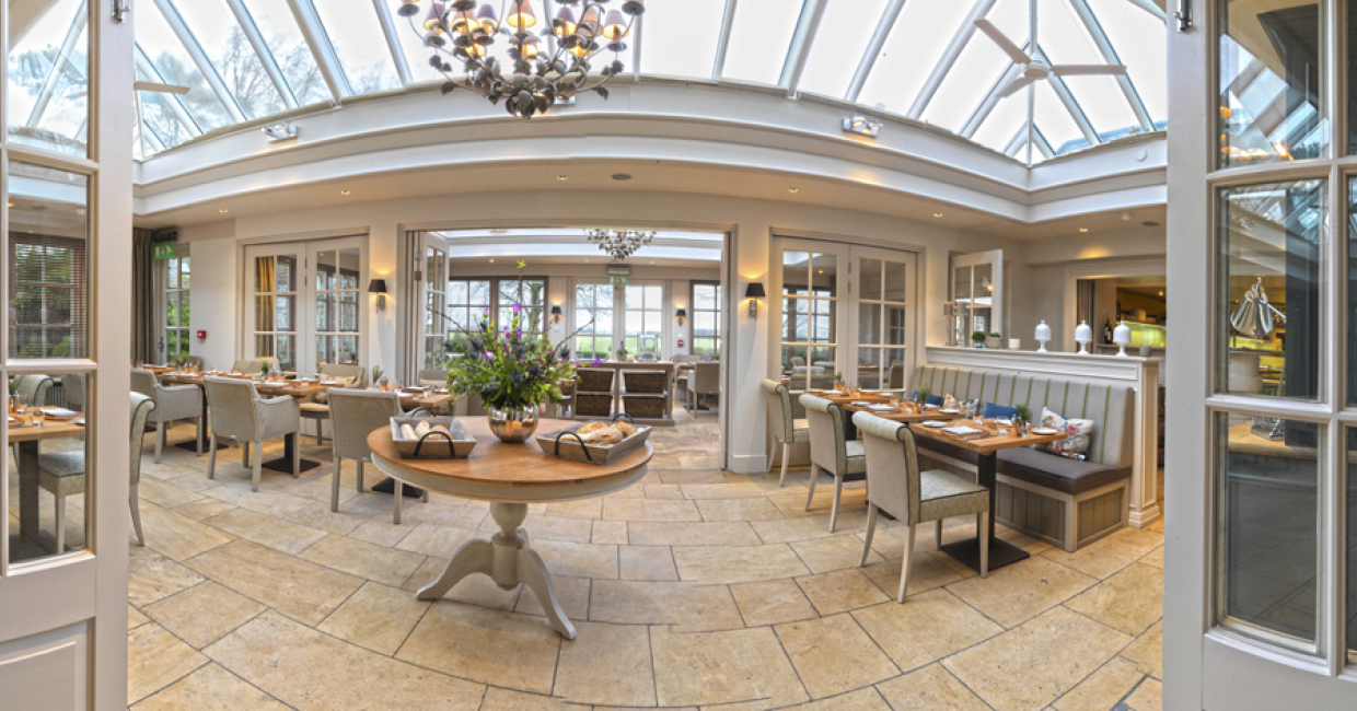 The Conservatory, Calcot Manor, Tetbury