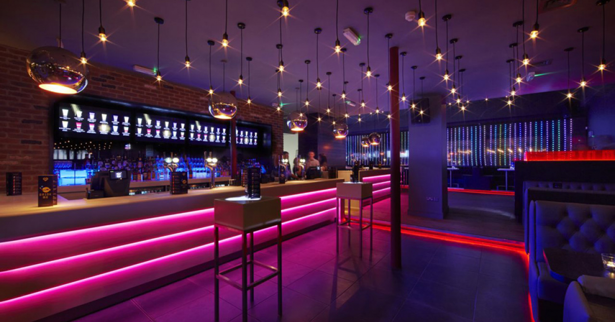 Multiple bar or club – Baa Bar (Millennium Square, Leeds), Snook Architects