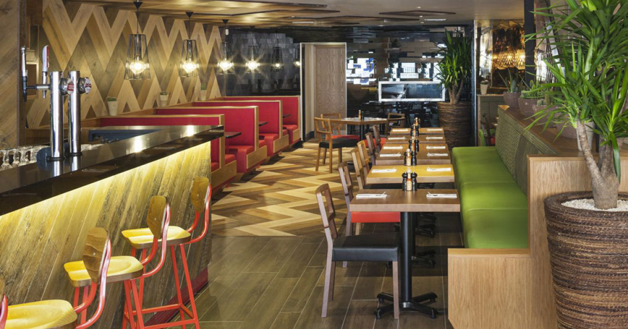 Multiple restaurant – Chimichanga (Billericay) – Brown Architecture Studio