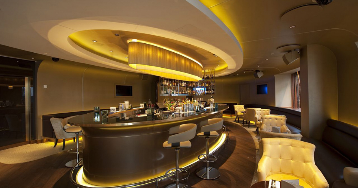 London bar – Colony Club Bar, Julian Taylor Design Associates
