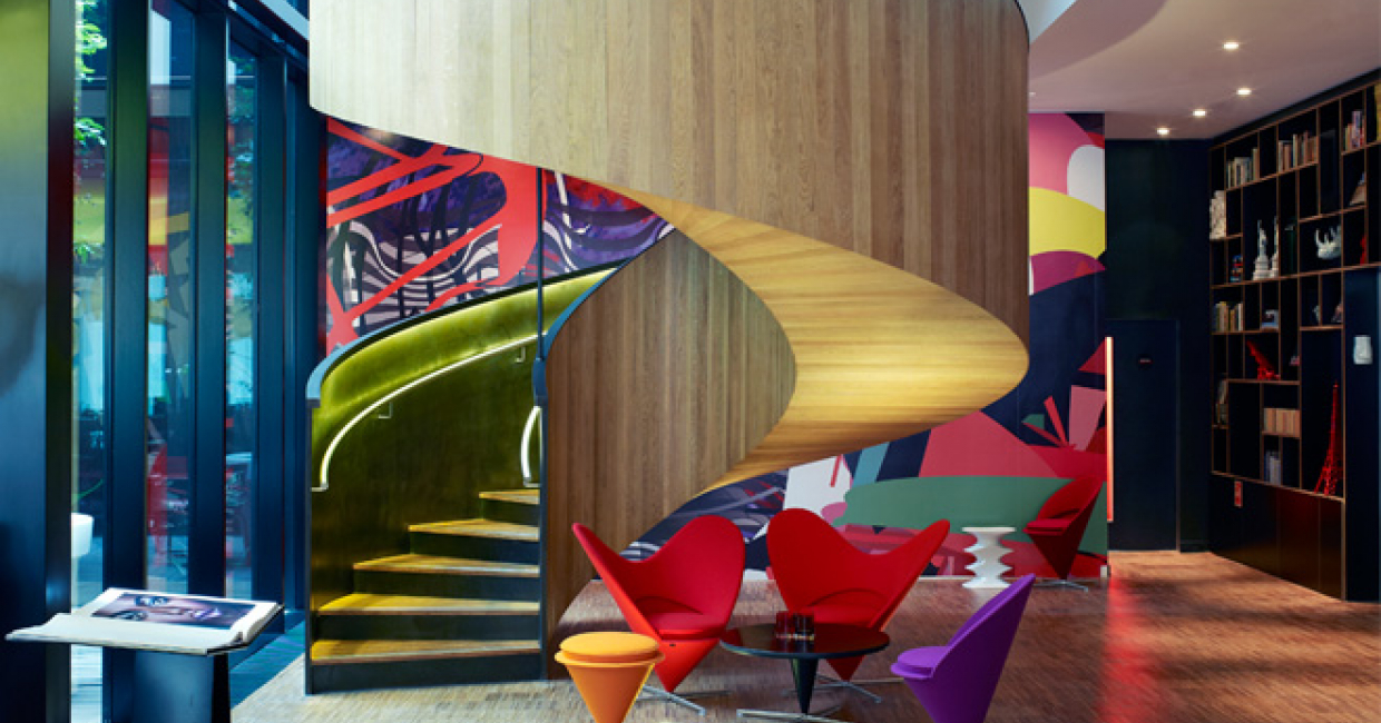 CitizenM Hotel Bankside London Is A Finalist In The Architecture Of The  Year And Interior Design