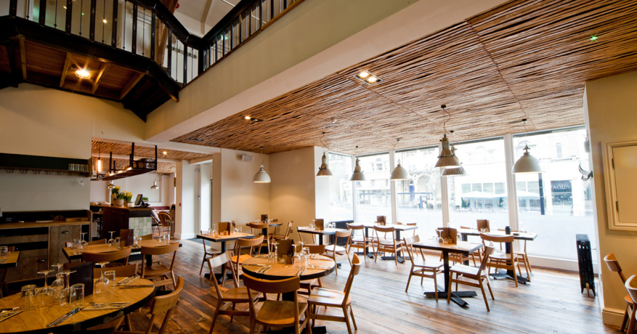 River cottage canteen bristol hospitality interiors