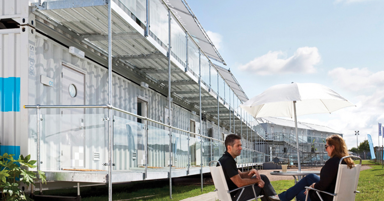 Neptunus makes room for Snoozebox at Silverstone | Hospitality ...