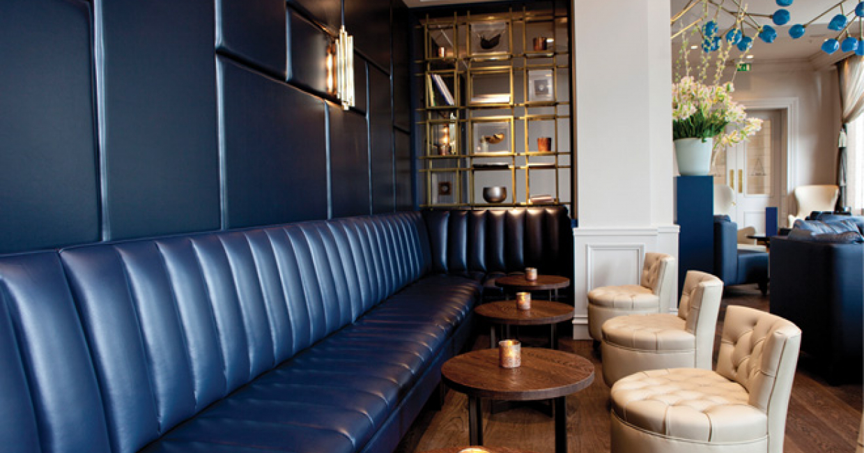 A bar at intercontinental amstel amsterdam hospitality for Interior design consultancy london
