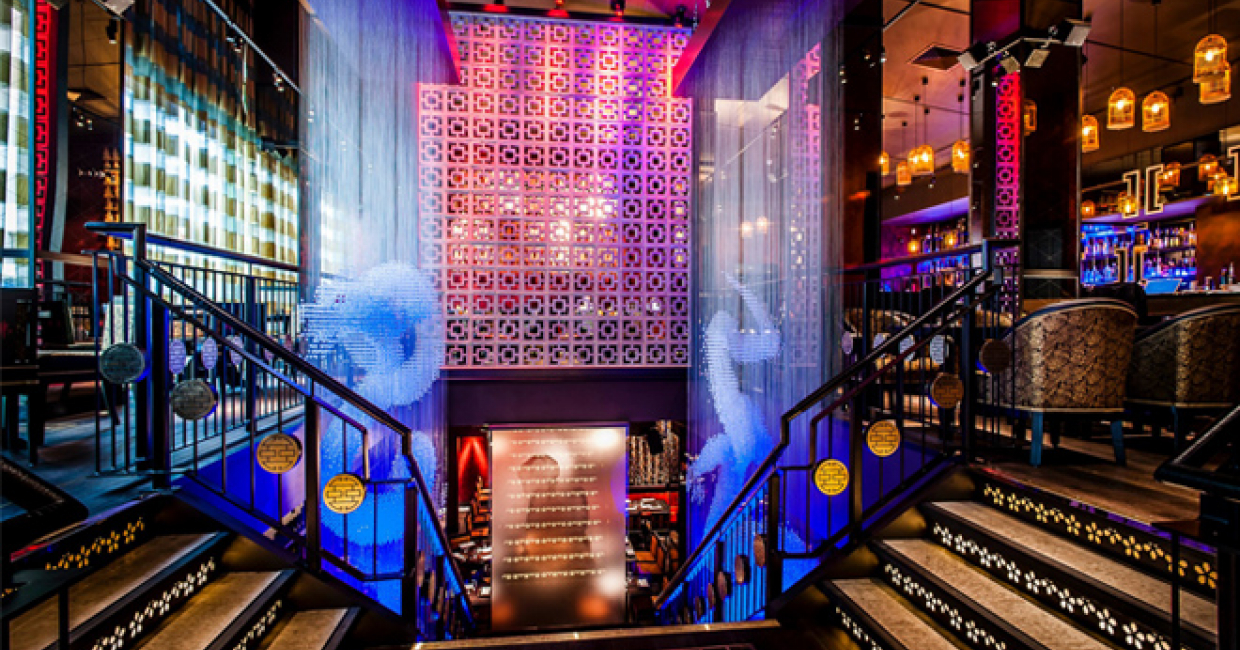 Tibbatts-Abel has worked on numerous high-profile projects, including celebrity hotspots Buddha Bar (pictured), Chinawhite and Movida.