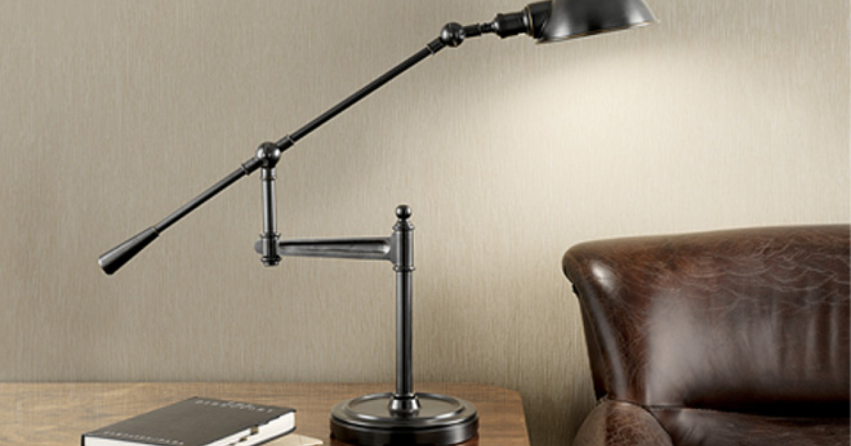 Robert Chelsom predicts that industrial-style lighting will be a key trend in the coming months