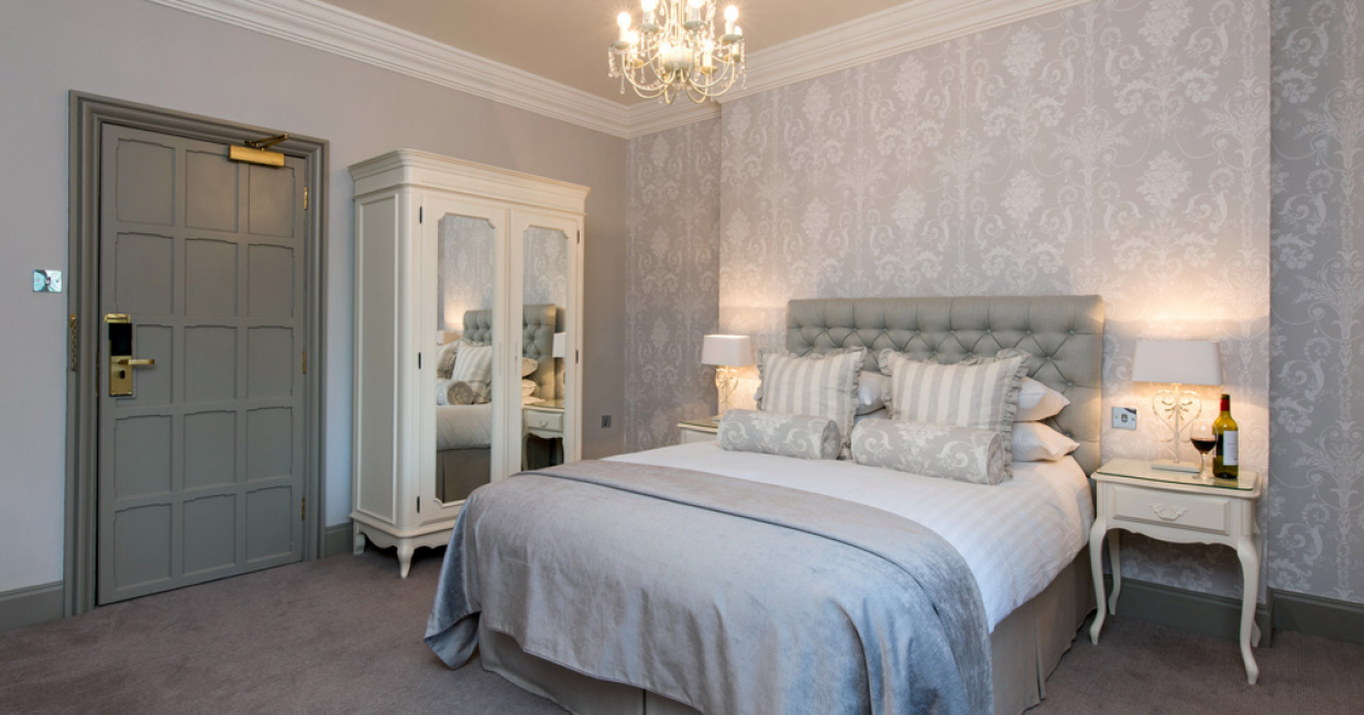 guest room at the manor elstree - Laura Ashley Interiors