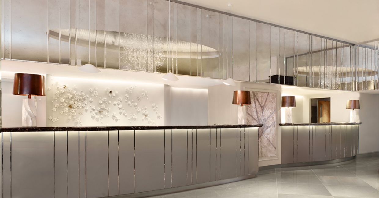 Reception at The Park Tower Knightsbridge