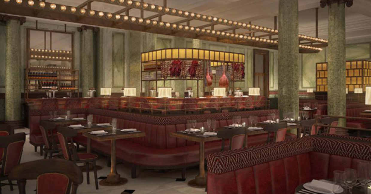 Holborn Dining Room & Delicatessen at Rosewood London is due to open in February 2014