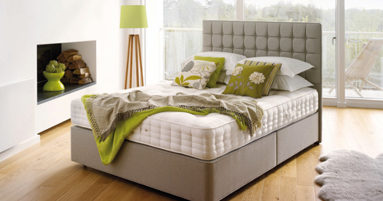 Lansdowne Cashmere contract bed, Hypnos