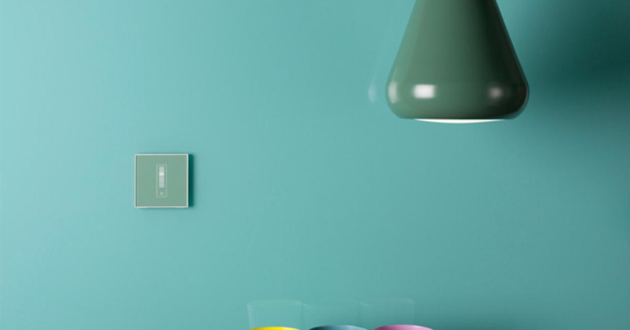 Mk Electric Bringing Aesthetics To The Fore Hospitality Interiors Wiring An Socket Glass Effect Electronic Dimmer In Polished Jade From Electrics Elements Collection