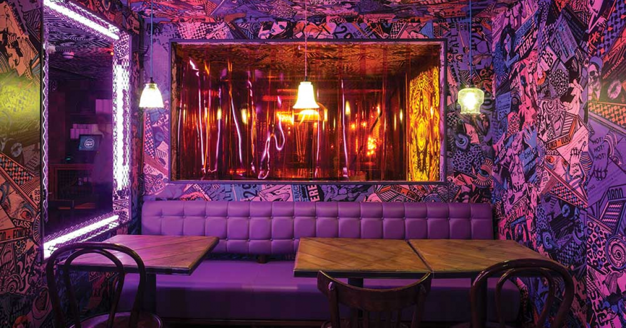 MEATliquor and interior architect, Shed, have once again joined forces to launch MEATliquor Brighton.
