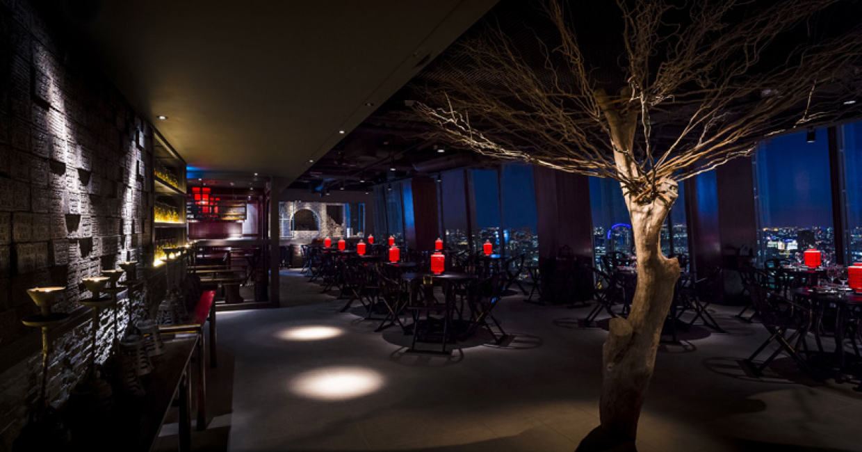 Hutong at the shard london hospitality interiors magazine for Restaurants at the shard