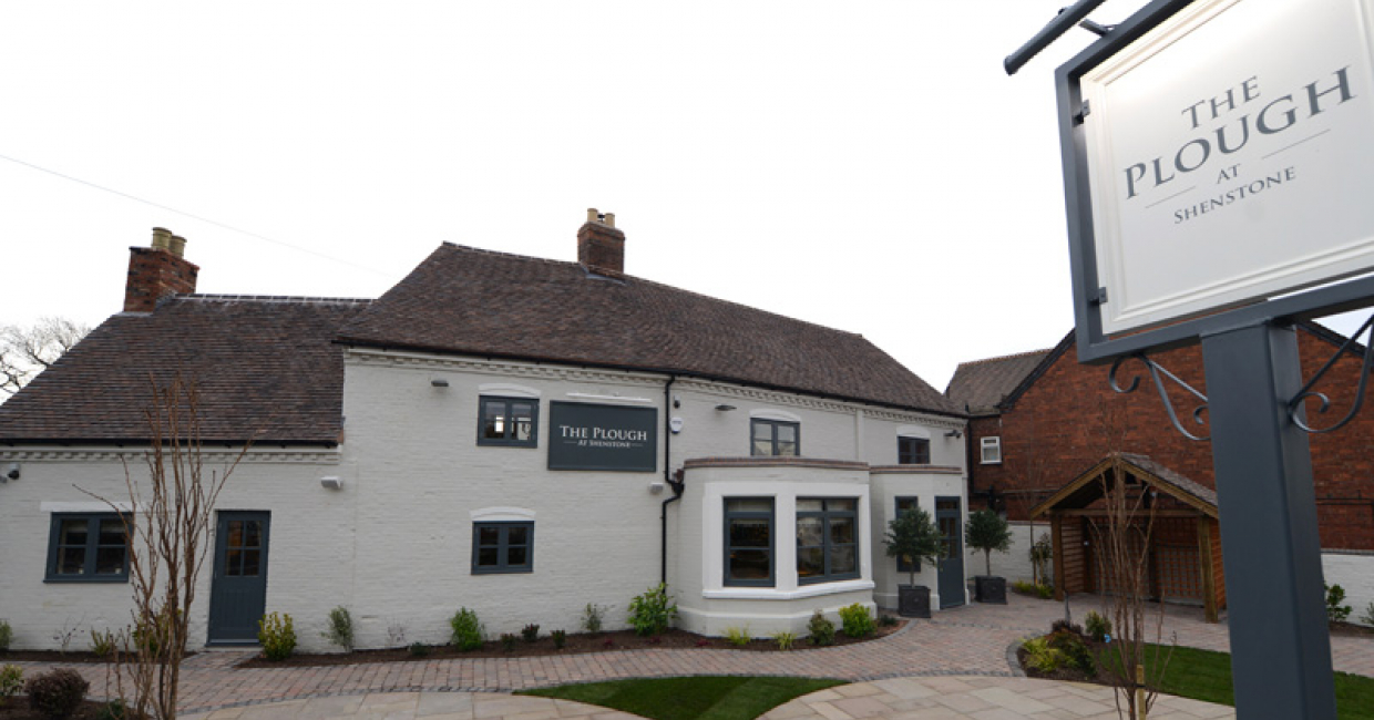 The Plough at Shenstone, Staffordshire