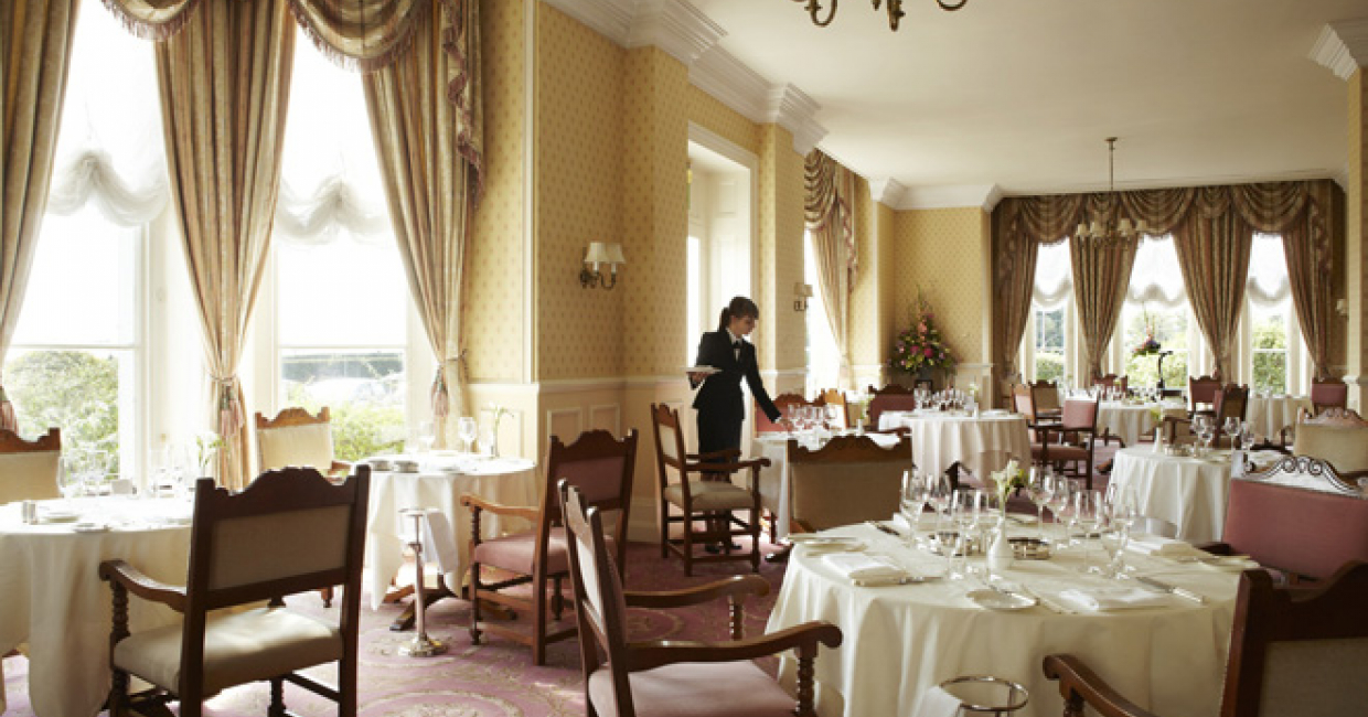 The Mirabelle restaurant at The Grand Hotel Eastbourne is 25 years old