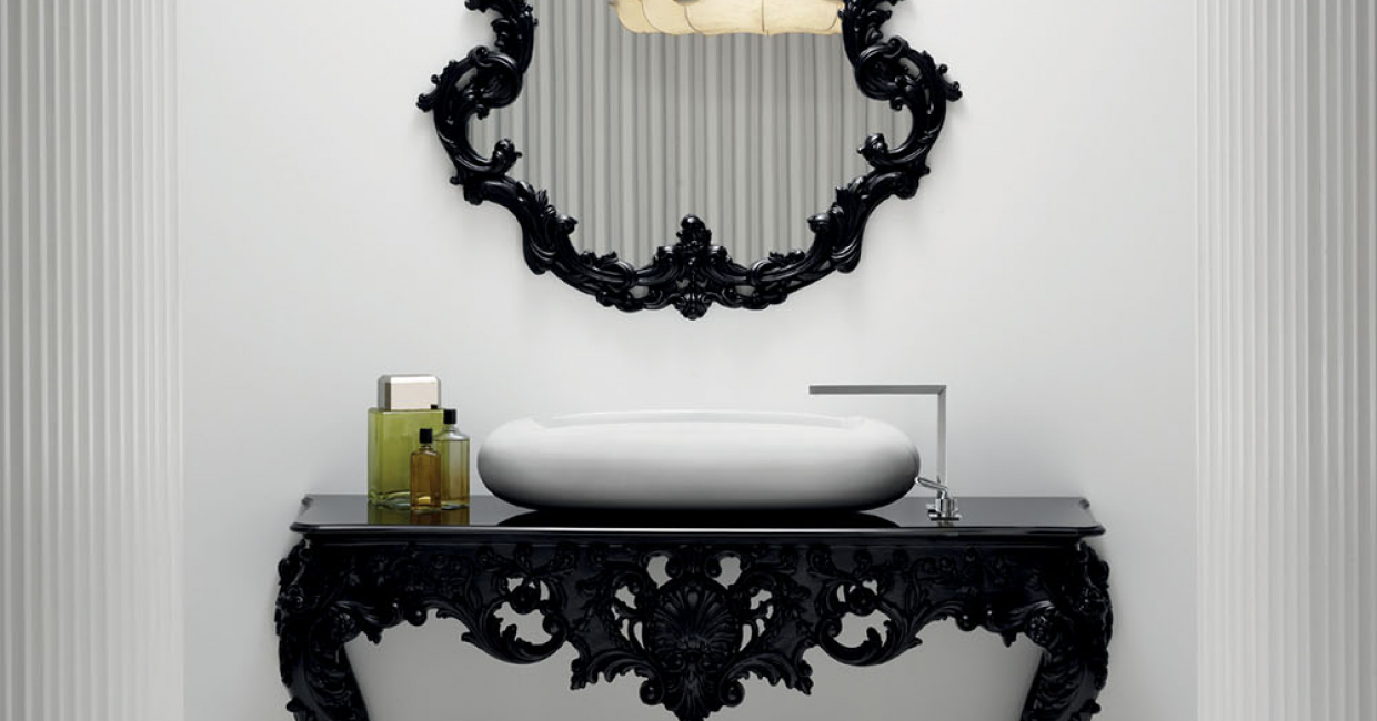 In 2012, Marcel Wanders collaborated with Bisazza Bagno to create his first bathroom collection