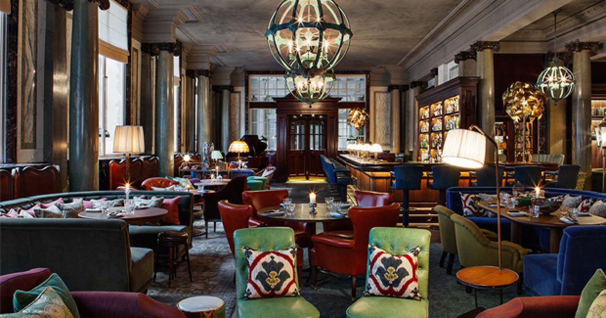Scarfes bar at rosewood london shortlisted in the bar category