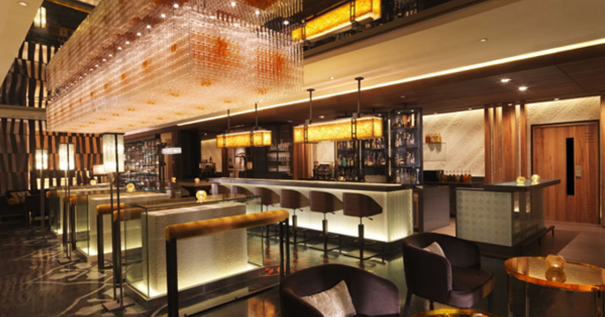 Anti:dote at Fairmont Singapore by EDG Design - nominated for best bar