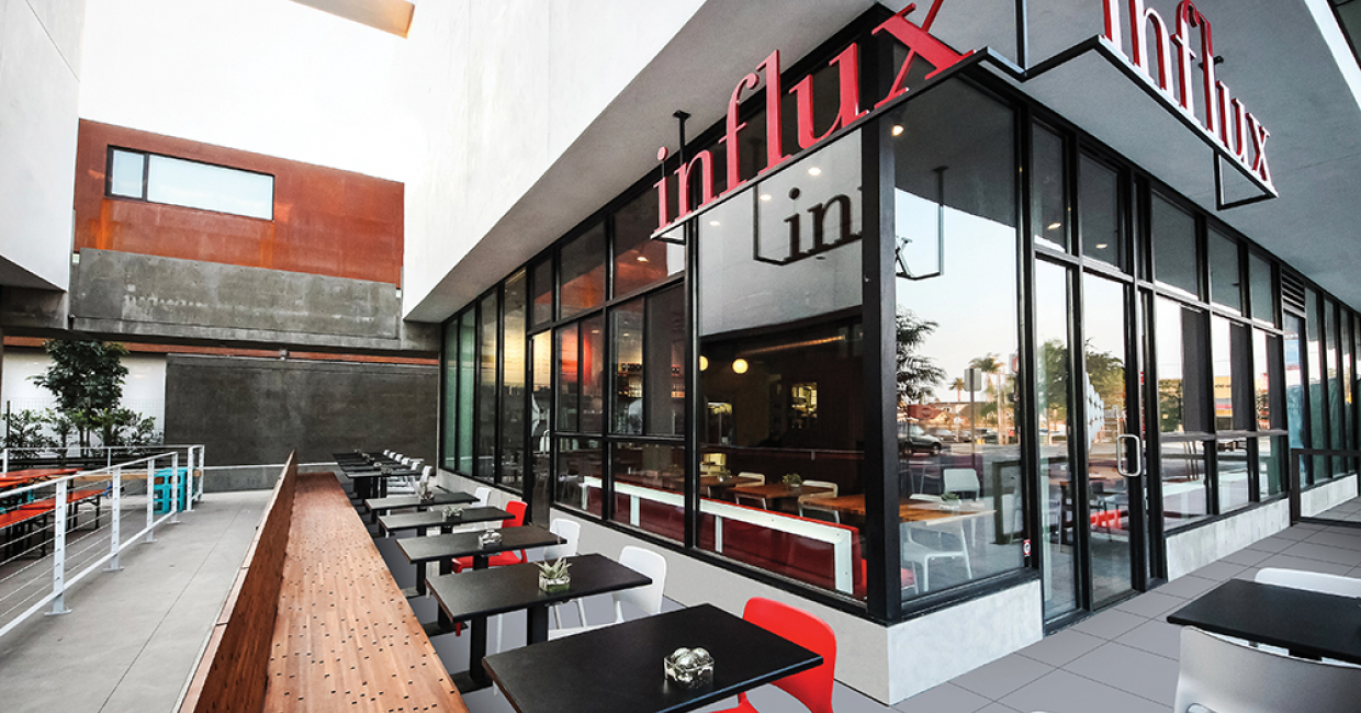 Influx Cafe, California
