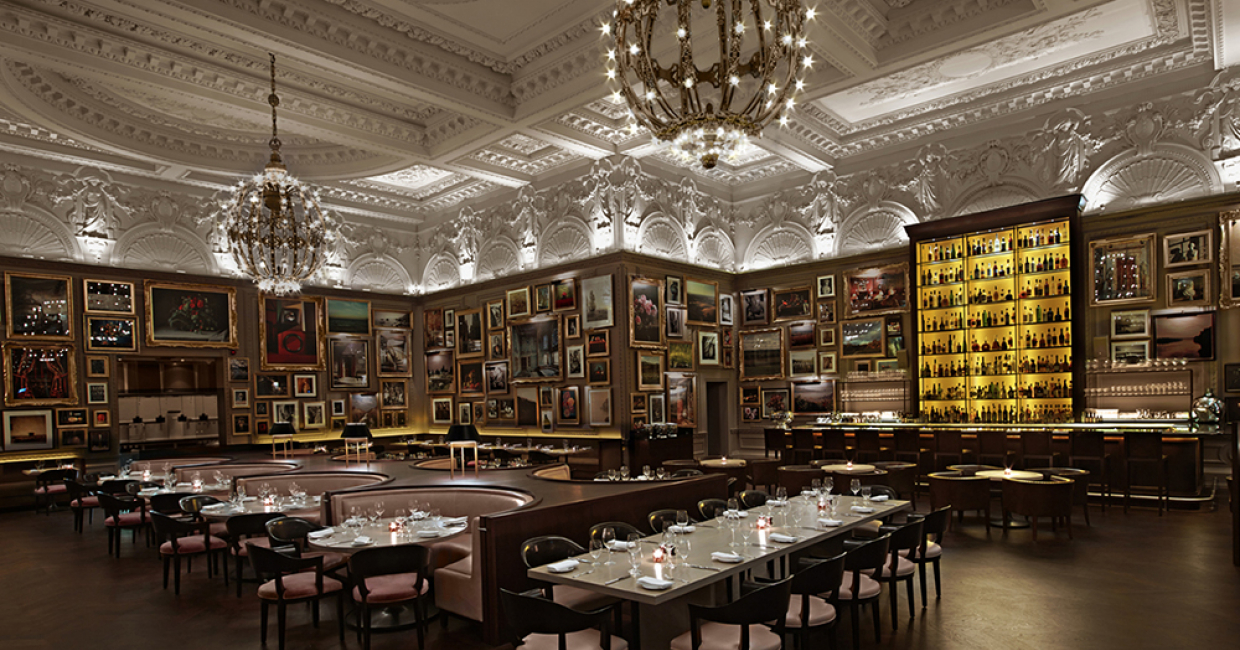 Interior Design Restaurant Berners Tavern And Punch Room At The London EDITION UK