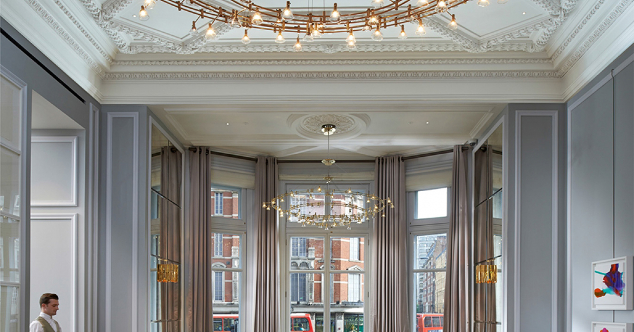 The Rosebery Room at Mandarin Oriental, London