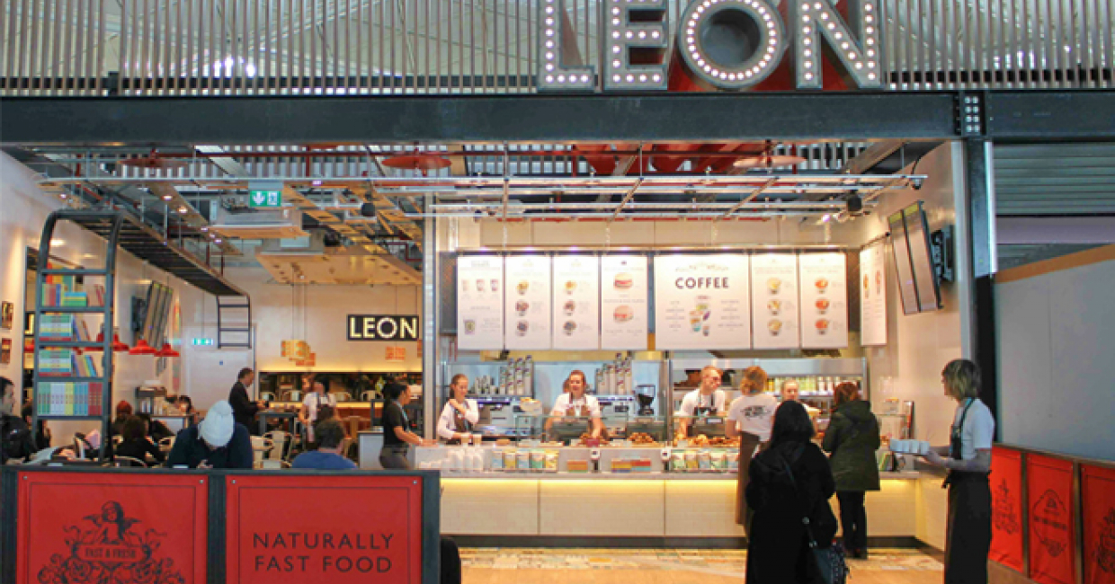 Leon opens in Stansted Airport