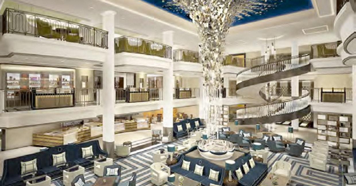 Richmond To Design Interiors For Britain S Largest Cruise Ship Hospitality Interiors Magazine