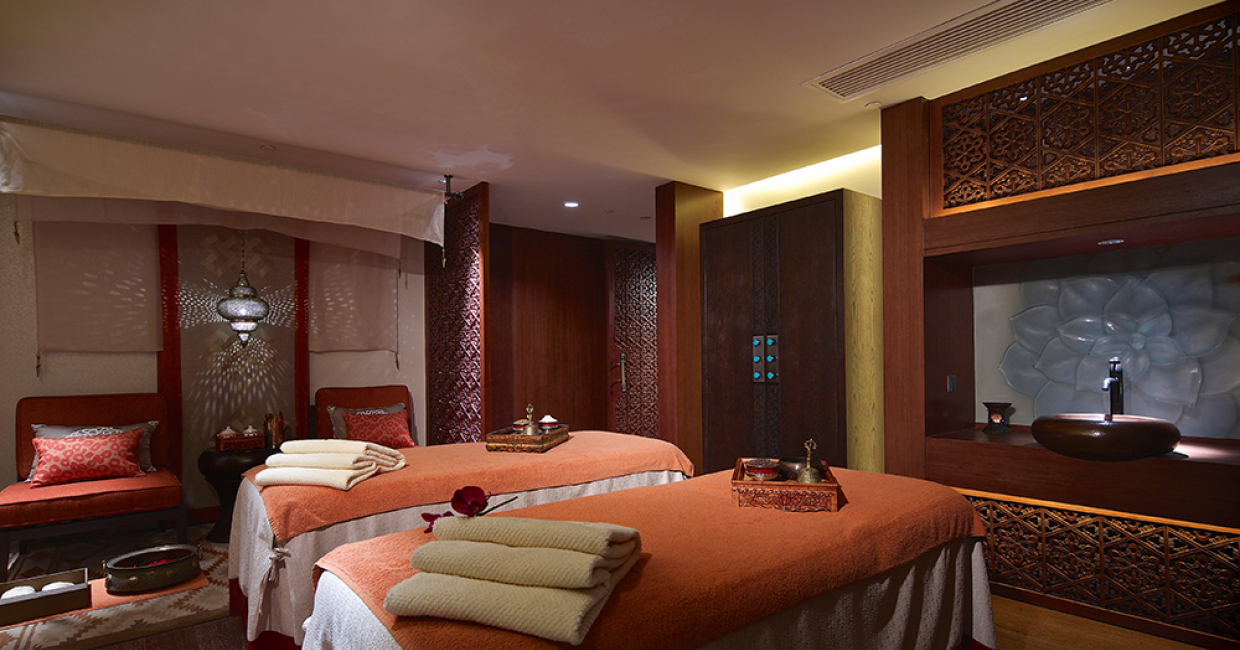 Interior Design - Spa & Wellness Chi Spa & Pool: Shangri-La Lhasa Tibet by LTW Designworks
