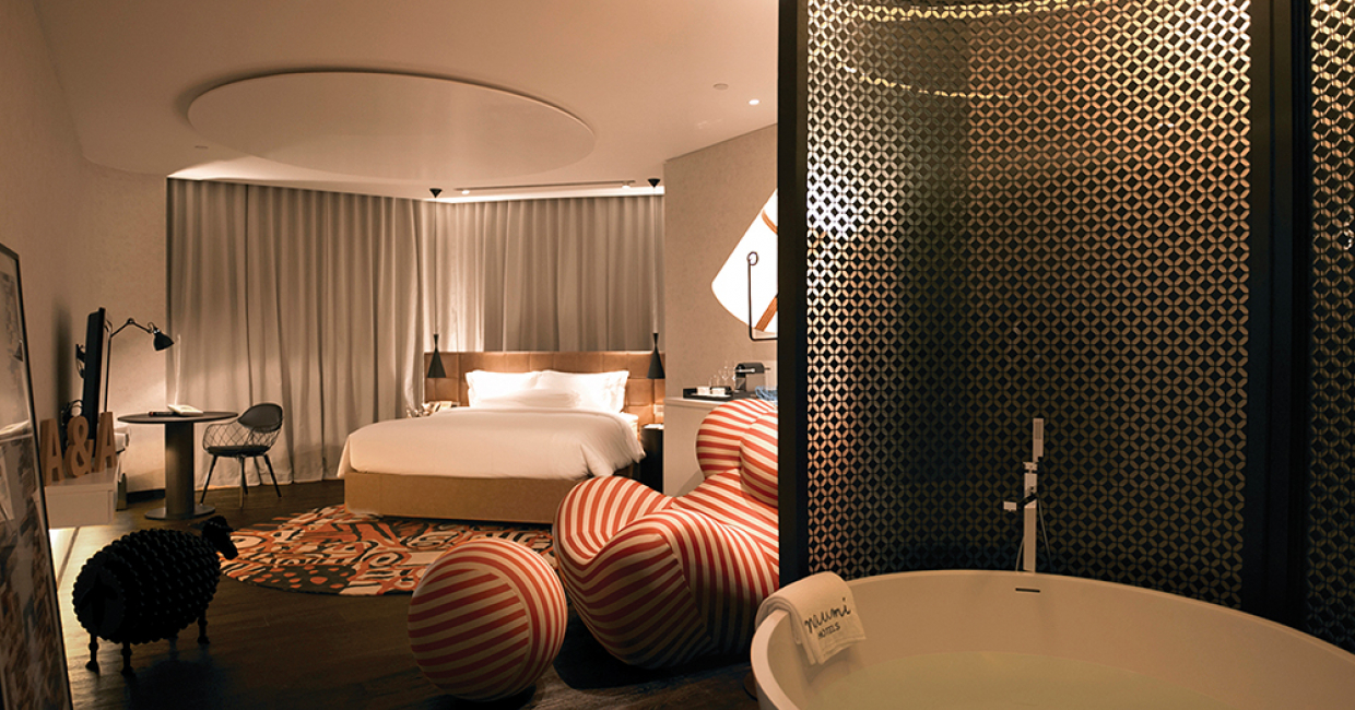 Interior Design - Suite: Naumi Hotel Singapore by White Jacket