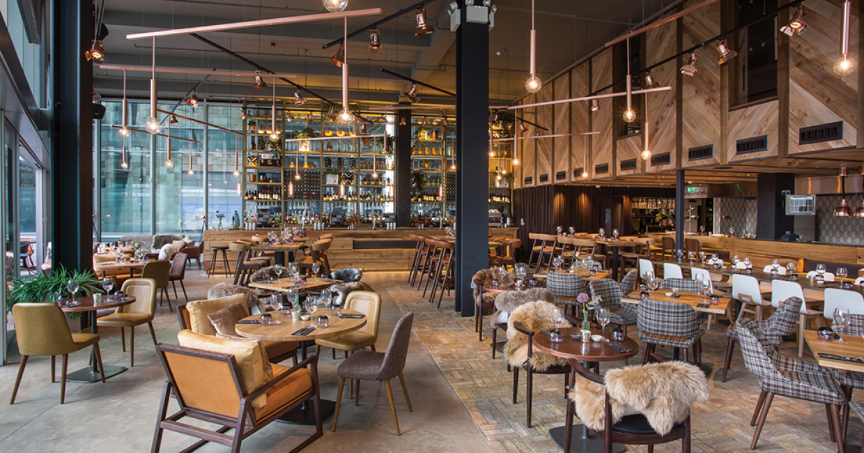 The refinery london hospitality interiors magazine for Restaurant design london