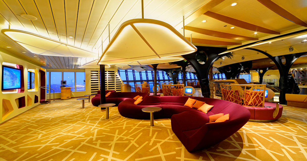 Brintons' products have been used for the AIDA Stella cruise ship