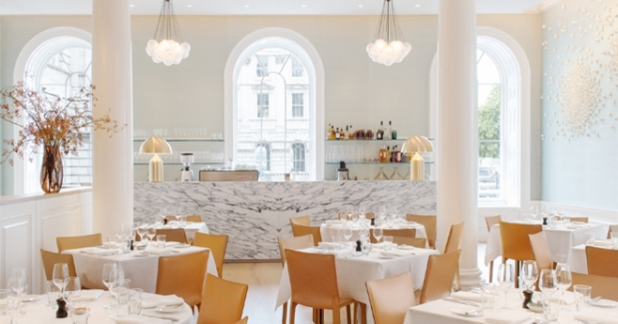 Spring, the critically acclaimed restaurant opened by Skye Gyngell in the New Wing of Somerset House last October, has announced the launch of The Salon, an intimate trio of spaces adjacent to the main dining room, which will open on Friday 3rd April.