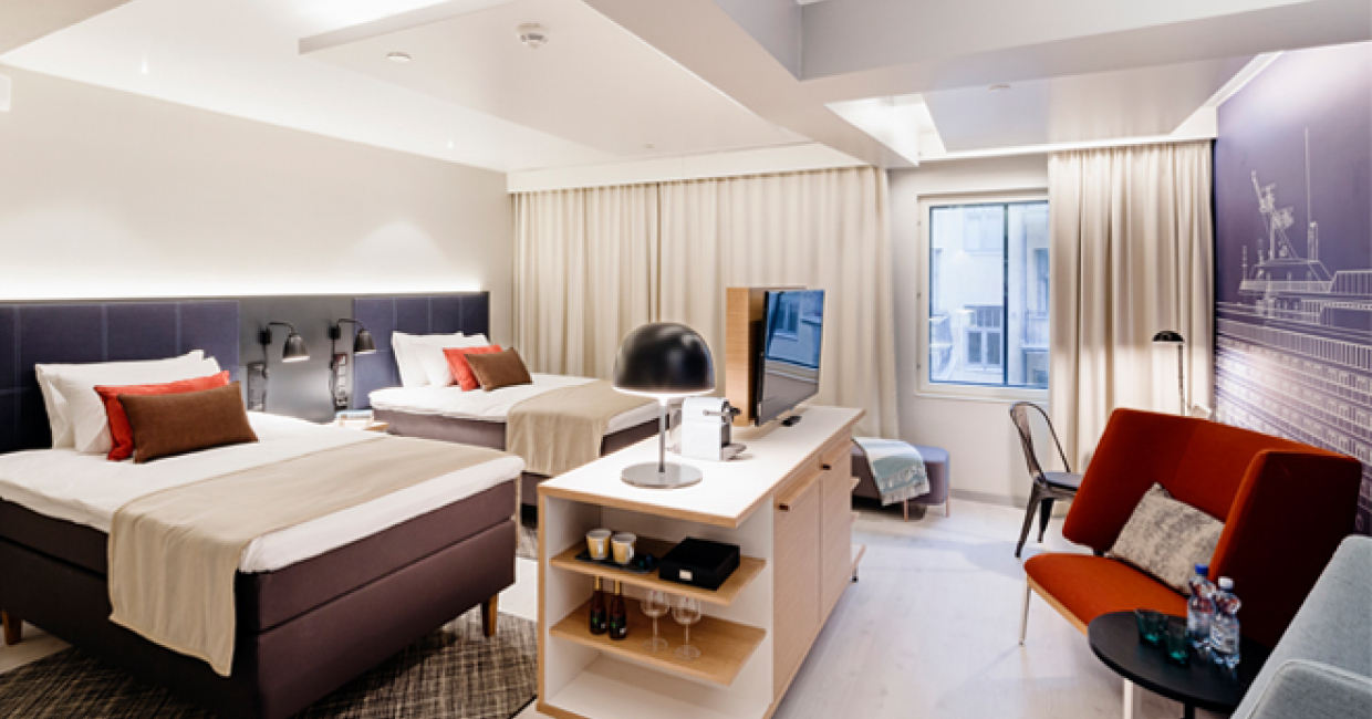 The design capital of finland welcomes hotel indigo for Boutique hotel group