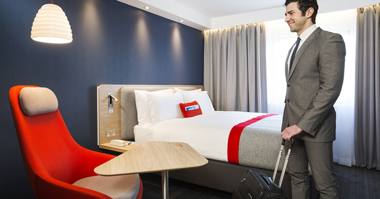 InterContinental Hotels Group (IHG) has now unveiled a 'next generation' guest experience for its Holiday Inn Express brand in Europe.