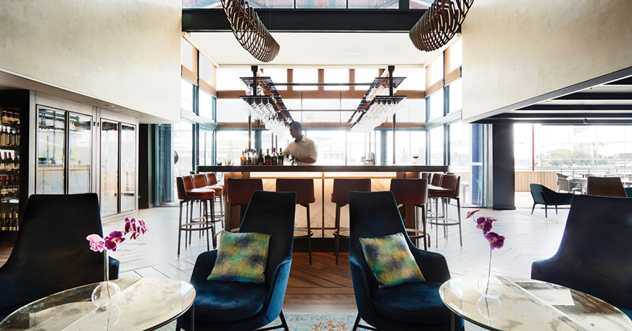 Pier one hotel sydney hospitality interiors magazine for Top hospitality architecture firms