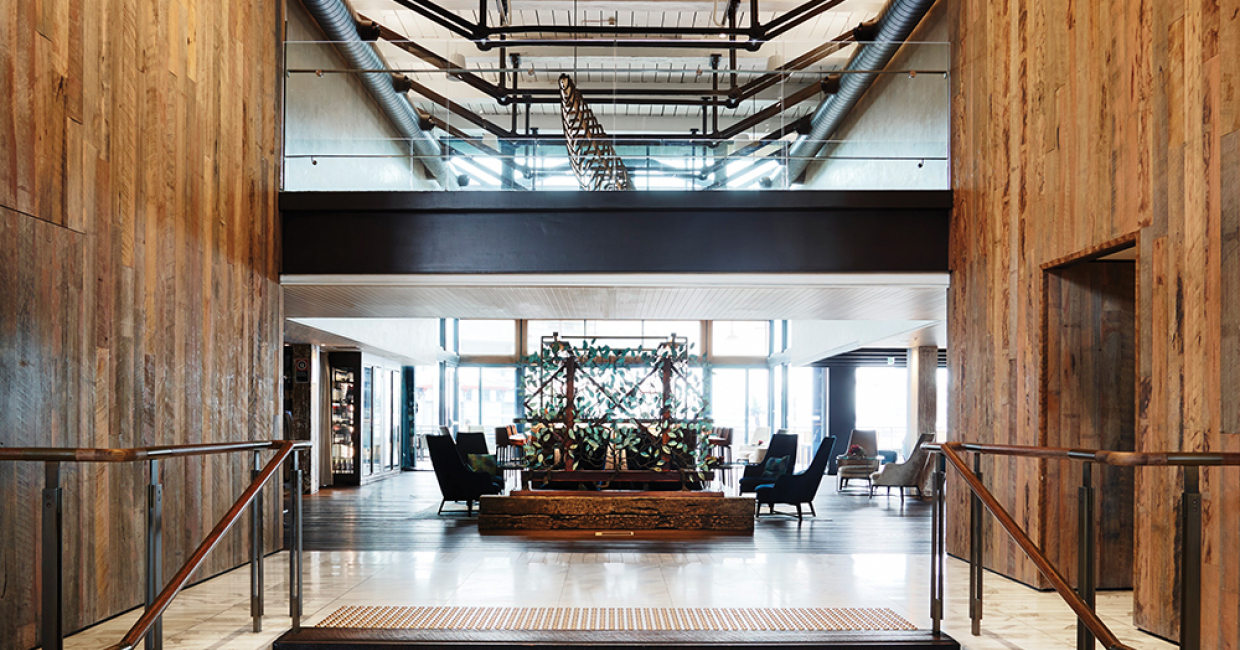 Pier one hotel sydney hospitality interiors magazine for Top architecture firms sydney