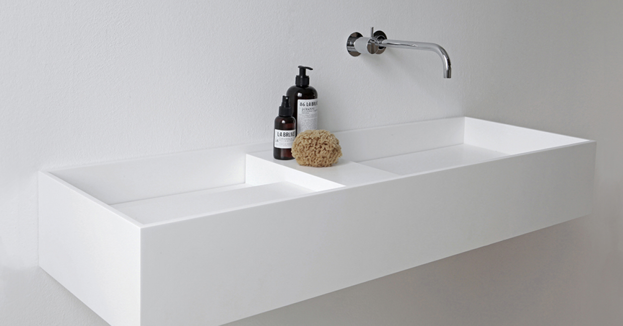 HI-MACS inspires new NotOnlyWhite bathroom collections once again ...