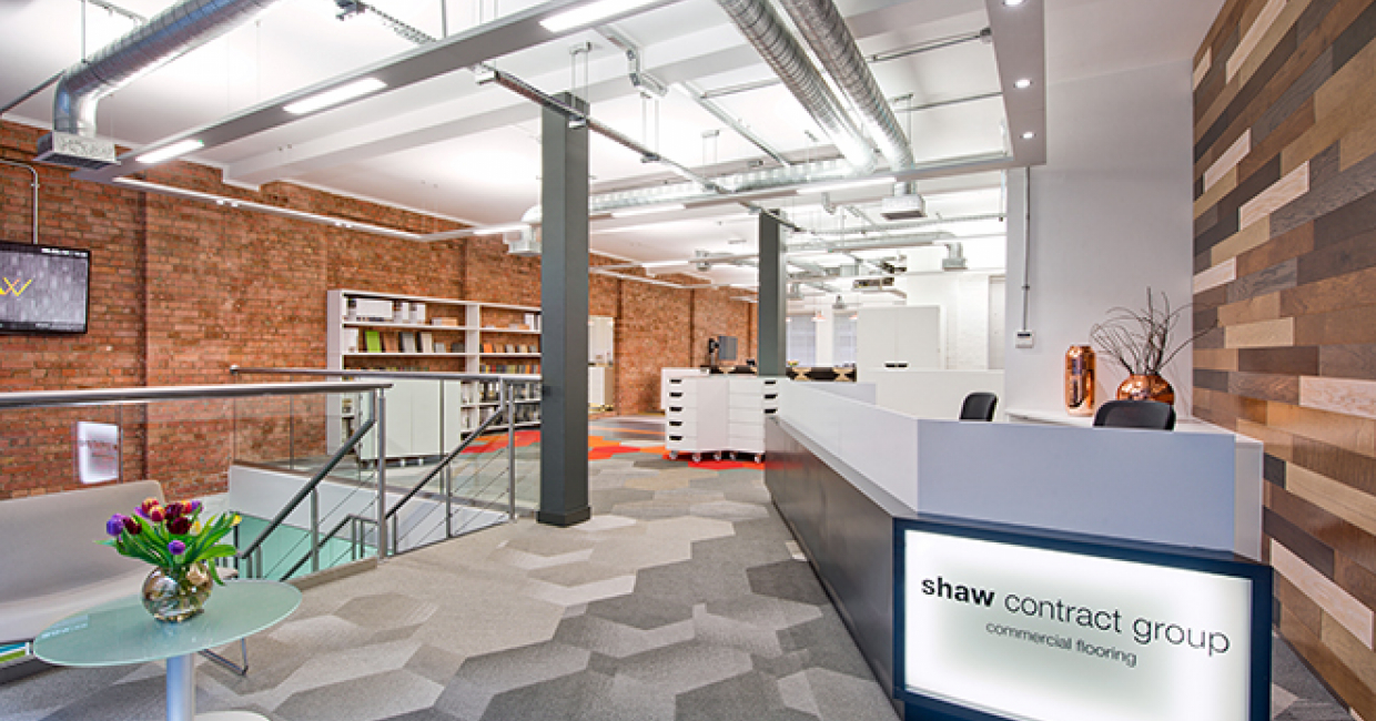 Shaw Contract Group's new London showroom, Hub 33, will open its doors with a celebration on 16 April.
