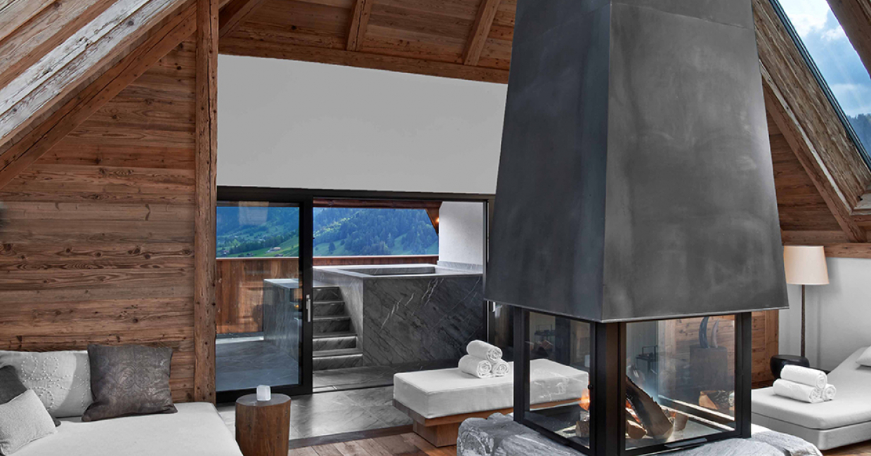 The Alpina Gstaad - Panorama Suite © Eric Laignel