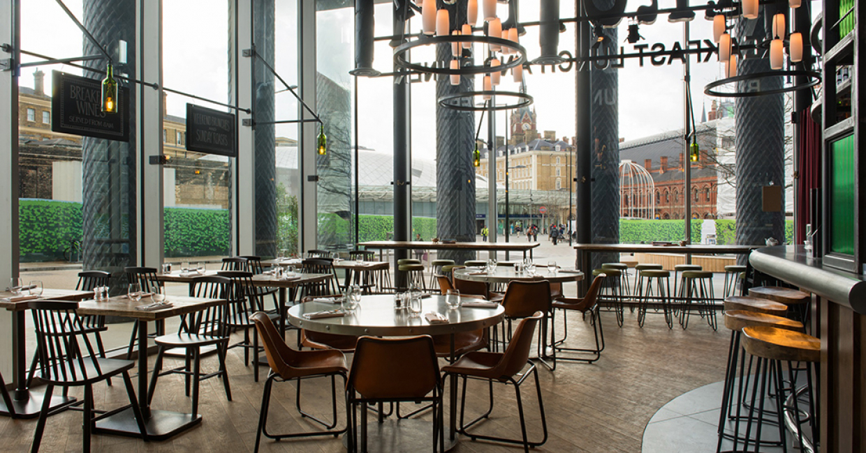 Vinoteca king s cross london hospitality interiors magazine for Interior design firms london